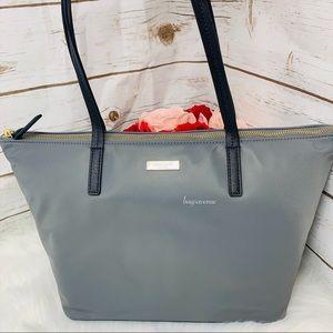 Lida May street smoky pearl gray Kate spade bag